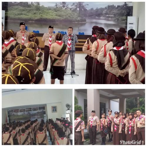 Pelepasan Tapakan Pramuka Garuda Kwarran Cibinong 2019